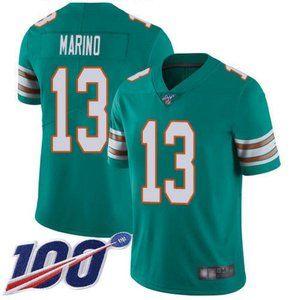 Dolphins Dan Marino 100th Season Jersey 2